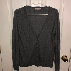 Grey forever 21 size small cardigan